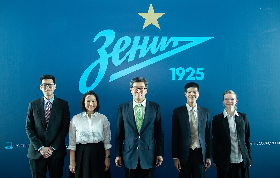 Представители посольства Таиланда посетили «Газпром»-Академию
